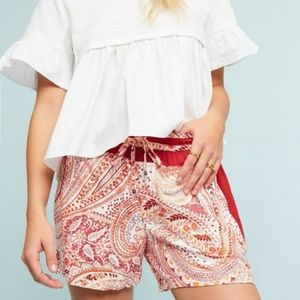 HEI HEI by Anthropologie Paisley Print Rory Shorts